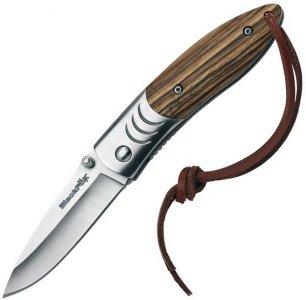 Black FOX Knives Wood Folding