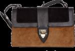 Decadent Aya Suede Shoulder Bag