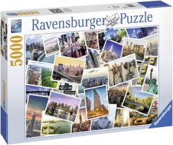 Ravensburger Puslespill New York City