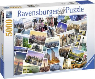 Ravensburger Puslespill New York City