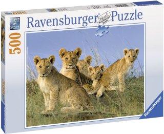 Ravensburger Puslespill Løveunger 500 Biter