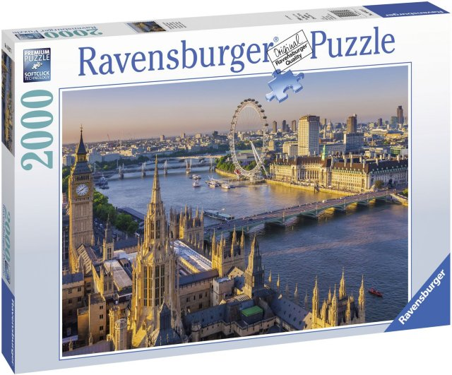 Ravensburger Puslespill London 2000 Biter