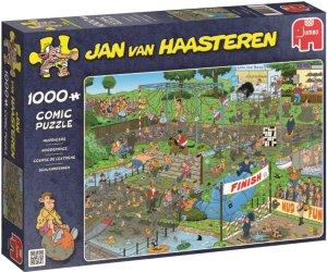 Jumbo Puslespill Jan van Haasteren Mudracers 1000