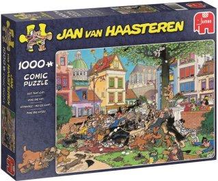 Jumbo Puslespill Jan van Haasteren Get that Cat 1000