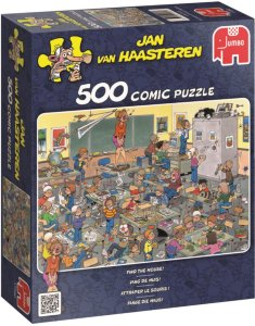 Jumbo Puslespill Jan van Haasteren Find the Mouse 500