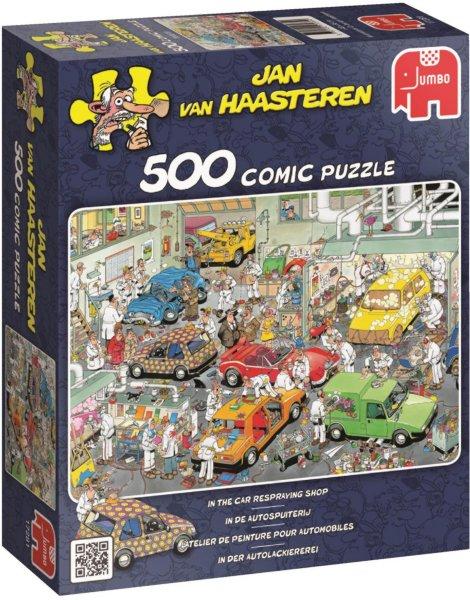 Jumbo Puslespill Jan van Haasteren Car Respraying shop 500