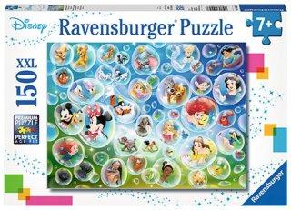 Ravensburger Puslespill Disney i såpebobler 150 brikker