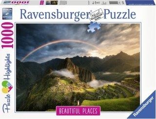 Ravensburger Puslespill 1000 Deler Rainbow Over Machu Picchu