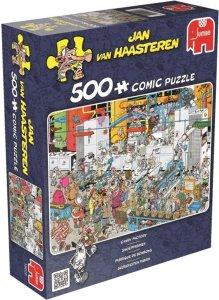 Jumbo Jan Van Haasteren Puslespill Candy Factory 500 biter