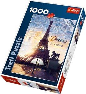 Trefl Puslespill 1000 Biter Paris at dawn