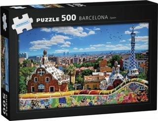 Egmont Kärnan Puslespill Barcelona Spain 500 biter