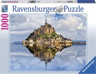 Ravensburger Mont Saint Michel 1000 biter