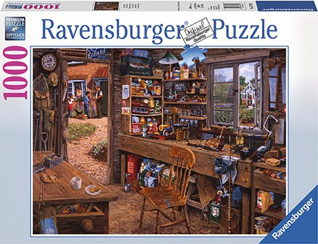 Ravensburger Grandpas Shed 1000