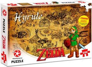 Winning Moves Legend of Zelda Hyrule 500 biter