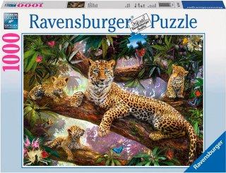Ravensburger Leopard Family 1000 biter