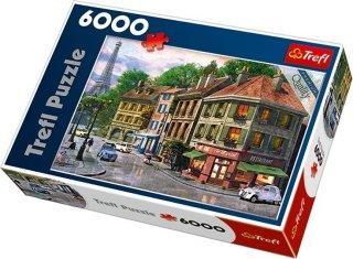 Trefl Puslespill 6000 Biter Street of Paris
