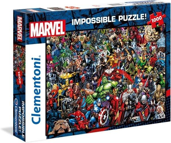 Clementoni Puslespill 1000 deler Impossible Marvel