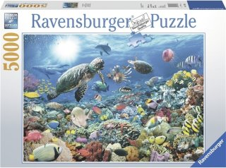 Ravensburger Puslespill 5000 Biter Under Overflaten