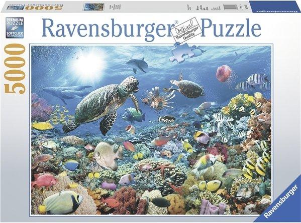 Ravensburger Puslespill 5000 Biter Under Overflaten