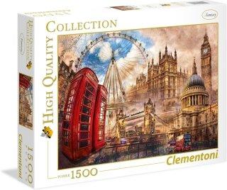 Clementoni Puslespill 1500 deler Vintage London