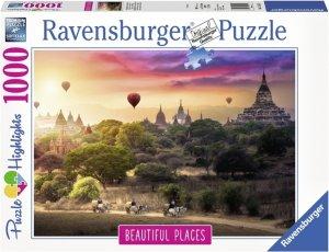 Ravensburger Puslespill 1000 Deler Hot Air Balloons Myanmar
