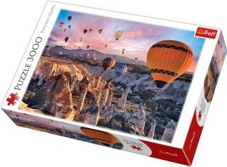 Trefl Puslespill 3000 biter Balloons over Cappadocia
