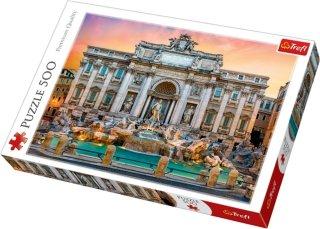 Trefl Puslespill 500 deler Fontana di Trevi