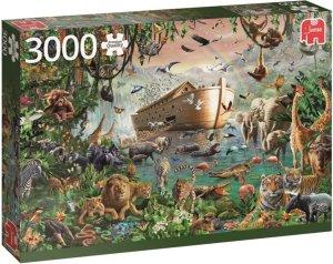 Jumbo Puslespill 3000 Deler Noah's Ark