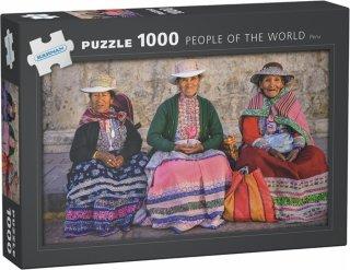 Kârnan People Of The World Peru Puslespill (1000 Brikker) Egmont Kids Media