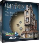 Wrebbit 3D Puzzle Harry Potter The Burrow Weasley Family Home  AE5J7H