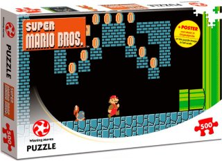 Winning Moves Super Mario Puslespill Underground
