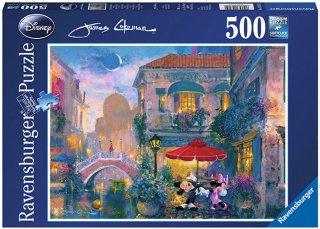 Ravensburger Mickey & Minnie in Venice 500 biter