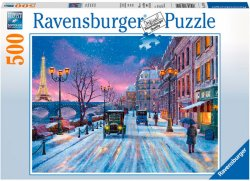 Ravensburger Vinter i Paris 500 biter