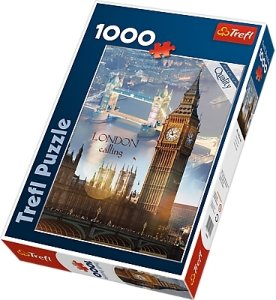 Trefl Puslespill 1000 Biter London at Dawn