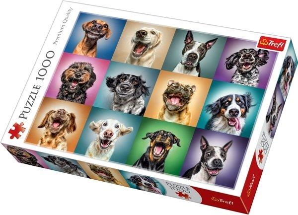 Trefl Puslespill 1000 deler Funny dogs