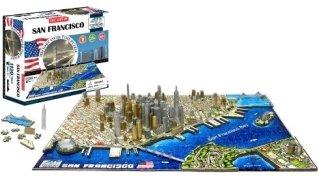 Cityscape 4D Cityscape Puzzle San Francisco