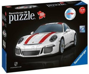 Ravensburger 3D Puzzle Porsche 911 R 108 pieces AH4M63
