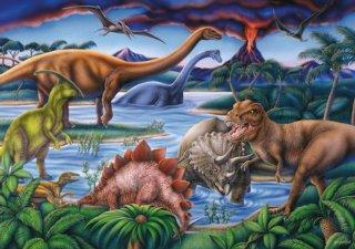 Ravensburger Puslespill Dinosaurer 35 brikker