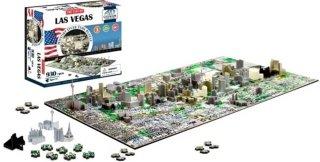 Cityscape 4D Cityscape Puzzle Las Vegas
