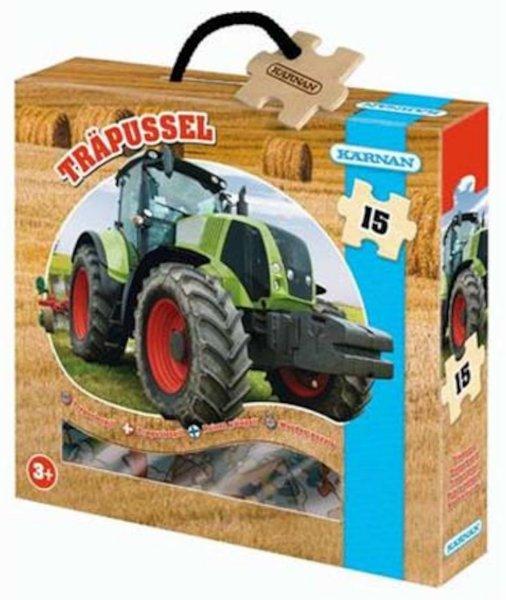 Kârnan Trepuslespill Traktor 15 brikker