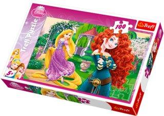 Trefl Rapunzel & Brave Puslespill 100 Brikker Unisex