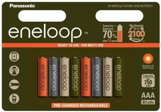 Panasonic Eneloop AA 8stk