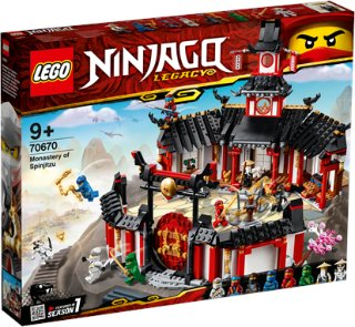 LEGO Ninjago 70670 Spinjitzu-klosteret