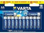 Varta High Energy AA 12 Pk