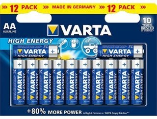 Varta High Energy AA 12 Pk