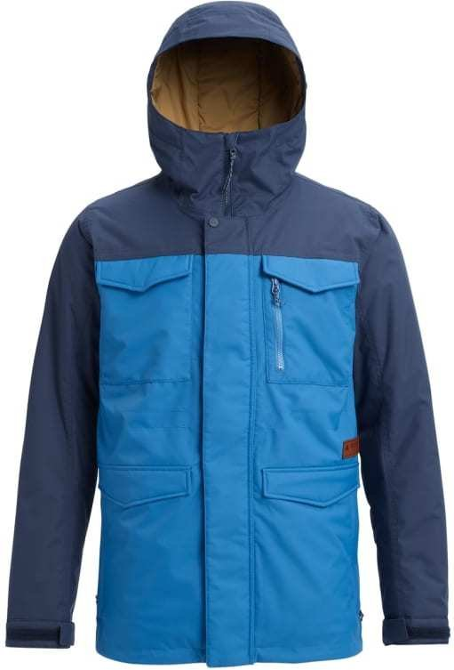 blå snowboard jakke dame