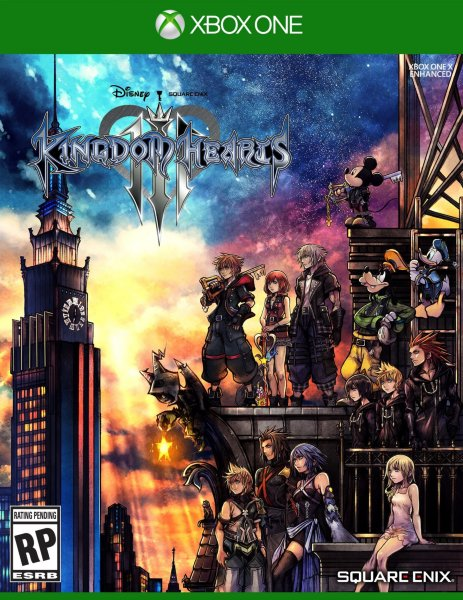 Kingdom Hearts III til Xbox One