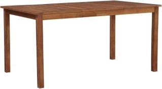 VidaXL Utendørs spisebord akasietre 150x90x74cm