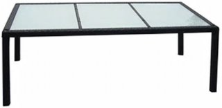 VidaXL Utendørs spisebord polyrotting 190x90x75cm