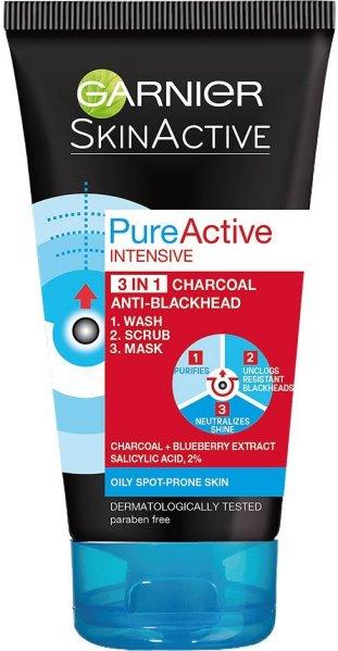 Garnier SkinActive PureActive Intensive 3 In 1 Charcoal